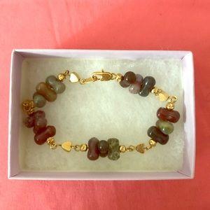 Jewelry - Multi-color jasper gemstone bracelet